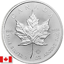 Canadian Silver Coins (Maple Leafs & More)