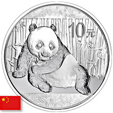 Chinese Silver Panda Coins