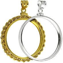 Coin Bezel Jewelry