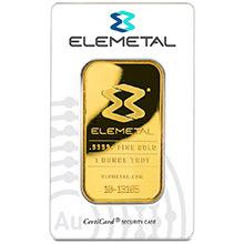 Elemetal Gold Bars