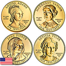 U.S. Mint First Spouse 1/2 oz Gold Coins