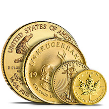 Fractional Gold Coins & Rounds