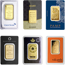 Gold Bars by Brand