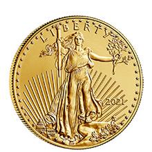 1/2 oz Gold Eagles