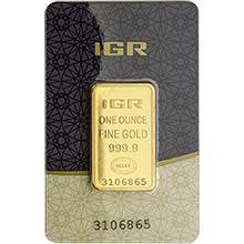 Istanbul Gold Refinery (IGR) Gold Bars