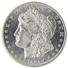 Morgan Silver Dollars (1878-1921)