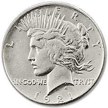 Peace Dollars (1921-1935)