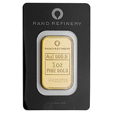 Rand Refinery Gold Bars