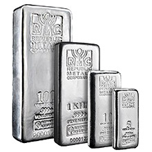 Republic Metals Corporation Silver Bars