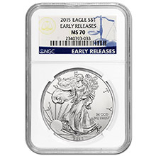 Silver Eagles - NGC Certified & Graded