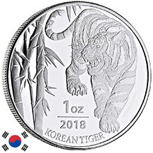 South Korea Silver Chiwoo & Tigers