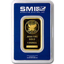 Sunshine Minting Gold Bars