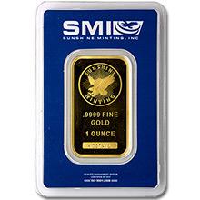 Sunshine Minting Gold Bars