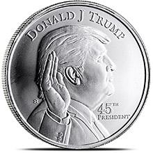President Trump Silver
