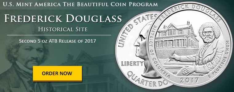 Frederick Douglass 5 oz Silver ATB Available To Order Now