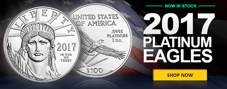 2017 Platinum American Eagles In Stock Now