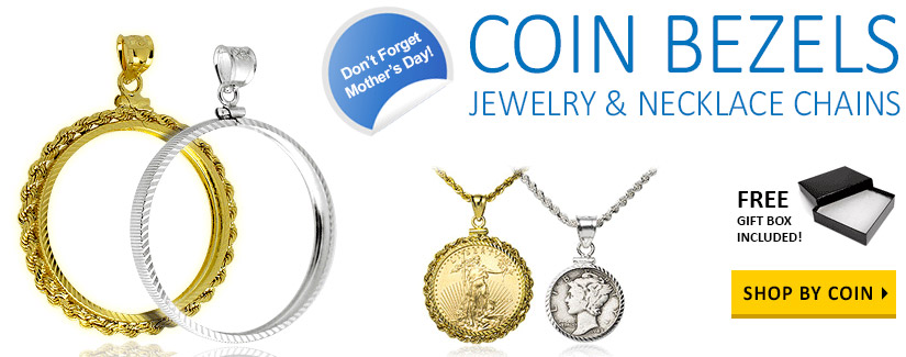Shop Coin Bezel Jewelry Now