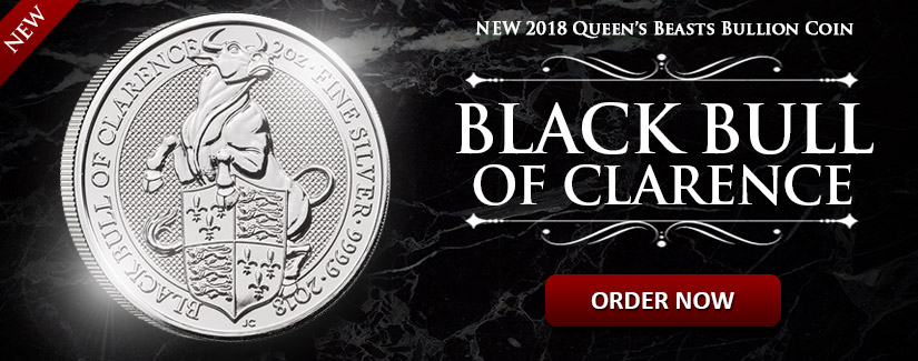 New Black Bull of Clarence Queen's Beast Silver Coin