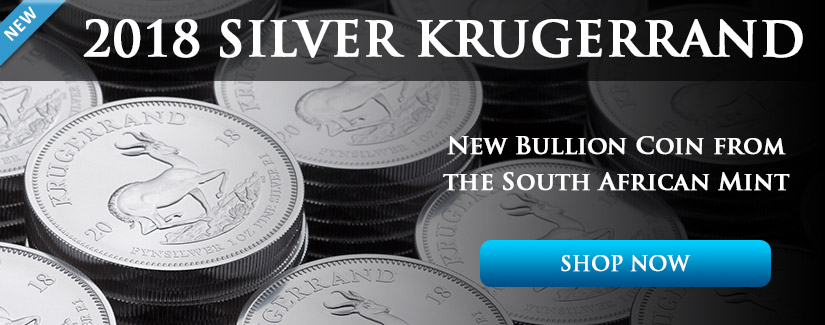 NEW 1 oz Silver Krugerrand Bullion Coin - Shop Now