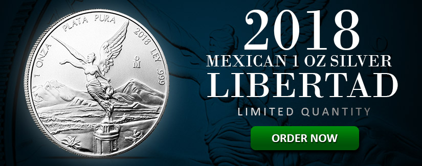 NEW 2018 Silver Libertad Coins Limited Quantity