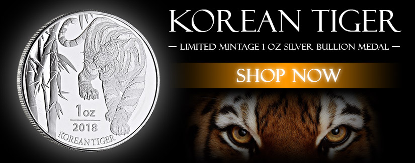 New Limited Korean Silver Tiger
