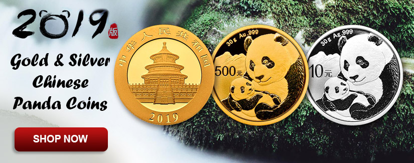 2019 Gold & Silver Panda Coins - Order Now
