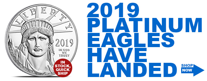 2019 Platinum American Eagles In Stock - Order Now