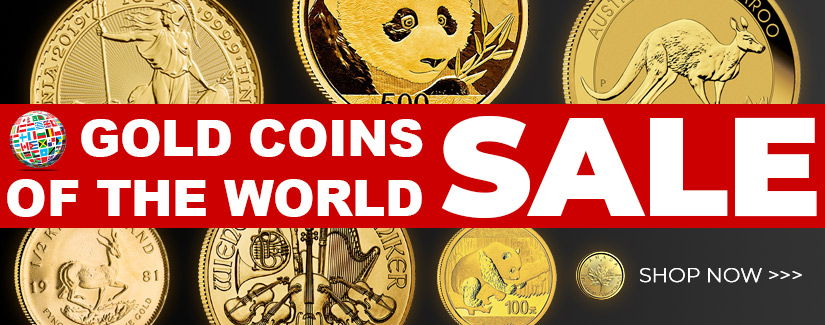 Gold Coins of the World SALE - Shop Now