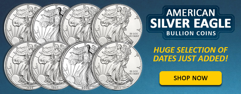 Collectible Silver Eagle Years Just Added