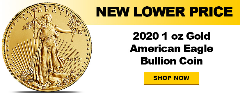 New Low Price - 2020 Gold Eagles