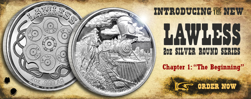 NEW Lawless 2 oz Silver Round Series