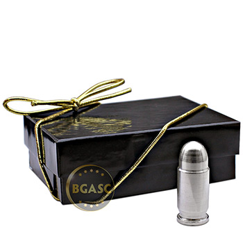 1 oz Silver Bullet - .45 Caliber ACP in Gift Box