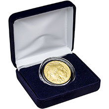 1 oz American Gold Buffalo Brilliant Uncirculated Bullion Coin in Velvet Gift Box