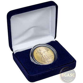 2020 1 oz Gold American Eagle Brilliant Uncirculated Bullion Coin in Velvet Gift Box