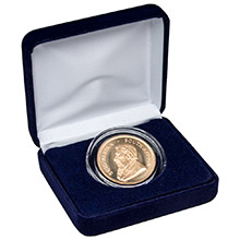 1 oz Gold South African Krugerrand Brilliant Uncirculated Bullion Coin in Velvet Gift Box
