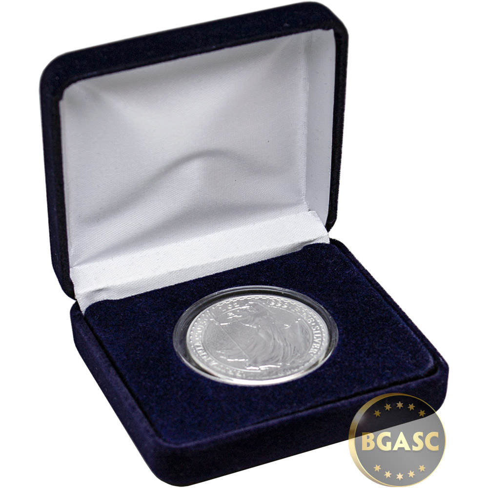 Buy 1 Oz Silver Britannia Brilliant Uncirculated Bullion