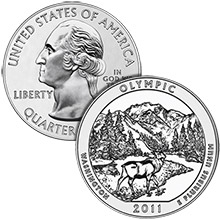 2011 Olympic - 5 oz Silver America The Beautiful in Capsule .999 Silver Bullion Coin