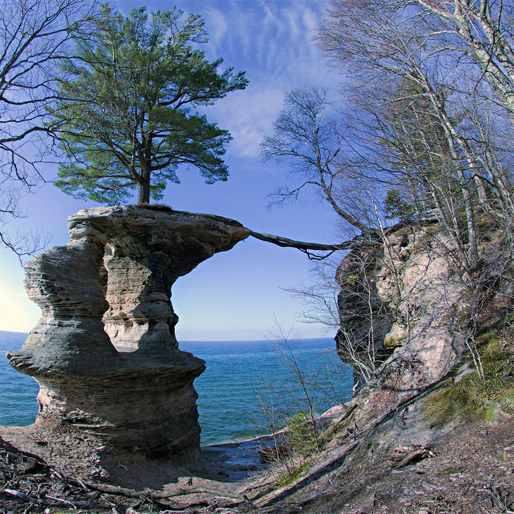 Buy 2018 Pictured Rocks Michigan 5 Oz Silver America The