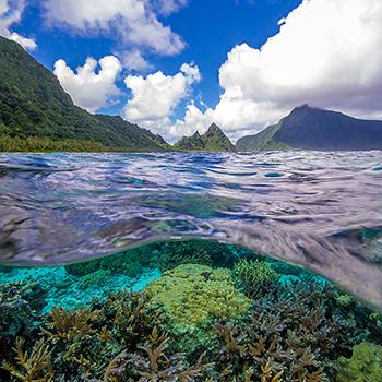 2020 National Park of American Samoa 5 oz Silver America The Beautiful .999 Fine Bullion Coin in Air-Tite Capsule - Image