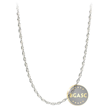 Sterling Silver Rope Chain Necklace 1.07mm - 16, 18, 20, 24