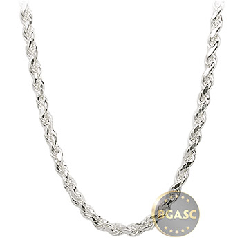 Sterling Silver Rope Chain Necklace 3mm - 16, 18, 20, 24, 30