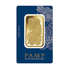 100 gram Gold Bar Pamp Suisse Fortuna with VERISCAN .9999 Fine 24kt (in Assay)