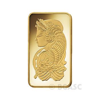Pamp Suisse 100 gram Fortuna Gold Bullion Sealed Bar w/ Assay .9999 Fine 24kt Gold - Image