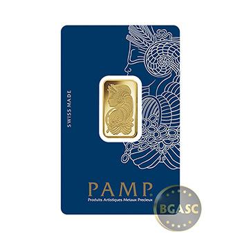 10 gram Gold Bar Pamp Suisse Fortuna with VERISCAN .9999 Fine 24kt (in Assay)
