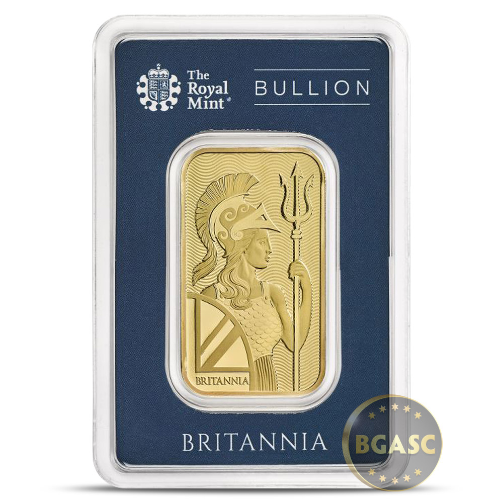10 Oz Silver Bar The Royal Mint Britannia