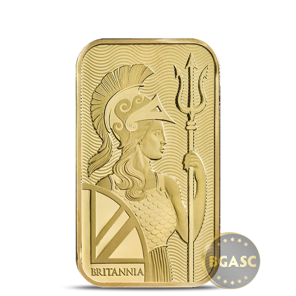 Buy 1 Oz Gold Bar Royal Mint Britannia 9999 Fine 24kt In