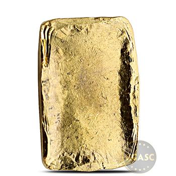 1 oz Gold Bar MK BarZ Hand Poured .9999 Fine 24kt Ingot w COA - Image