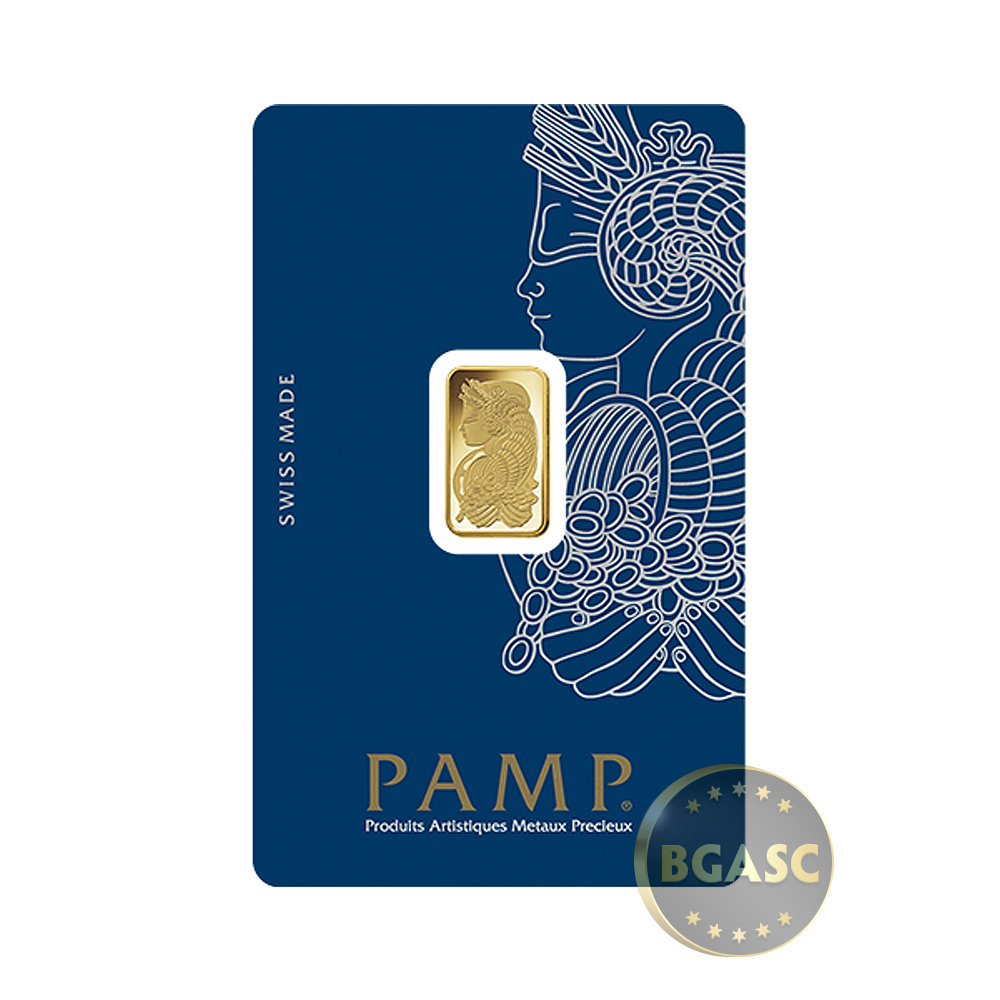 Buy 2 5 Gram Gold Bar Pamp Suisse Fortuna With Veriscan