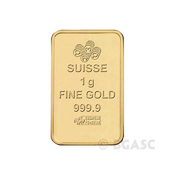 MULTIGRAM+25 Pamp Suisse Gold Bullion Sealed Bars - Image
