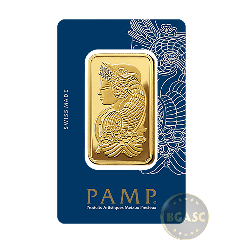 Buy 50 Gram Gold Bar Pamp Suisse Fortuna With Veriscan
